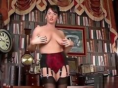 Hot secretary anal fuck
