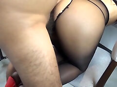 Pantyhose tease, footjob, play canoe sex sex,cumshot on ass,doggystyle fuck, hope you like boob anal suscribe for more &lt3