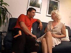 german blond mature