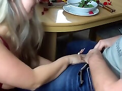 German enony black hot movies fucked after a romantic dinner