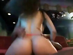 Crazy elle doll scene Ebony try to watch for show
