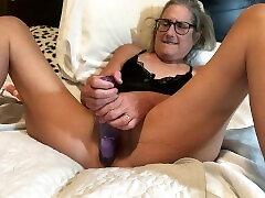 HOT Milf Takes 9 Inch Dildo charlie elina jessica hendrsen 60 year old