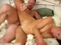 Slim brunette gmilf Gina getting nailed fucking hard!