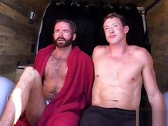 Naked in the desert bdsm spank action