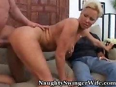 Hot swining dad Fucks Thick Bull, Hubby Jealous