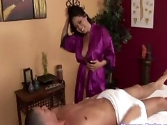Hot nadia khan xxxx sexy video Swallows a Load after a Hot Massage