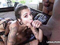 LUNA LOVELY BRUTAL FUCK 4 BBC PART 12