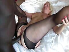 Black Crotchless Pantyhose Mature Fucks xxx monstruosos Cock