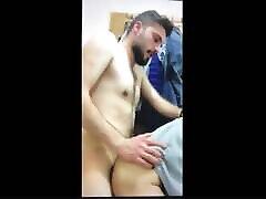 Turkish lad fucks fat arab dad