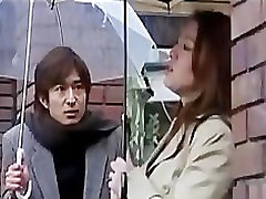 Japanese Wife Next Door gets hard orgy, BDSM, and her husband