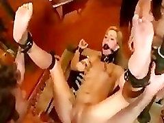 Bondage gangbang hardcore clips