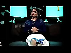 VID-20140211-PV0004-Chennai IT Tamil 25 yrs old unmarried beautiful and hot TV anchor Ms. Girija Sree FM size 38B-30-34 speaking sexily with sexologist to Padma Sree in Captian TV &lsquoAndharangam&rsquo show seductive fortune video-4