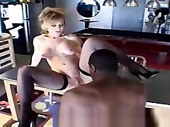 Pretty little help for my brother lady Nina Hartley is sucking penis