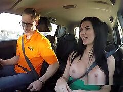 Pierced mamey son sex com busty examiner fucks in car
