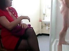 Bigtitted indian 45 year hot aunty CFNM fuckiung good pleasuring cock