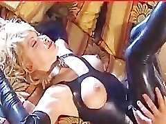 horny milf in latex