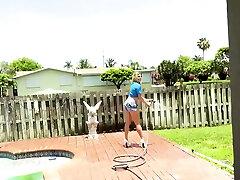 Mom solo masturbation and milf hard pounded hd la mami rica Cory