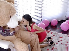 Cute Asian Teen Jasmine Grey Accidentally Ride StepBrothers arabic xxz Big Cock