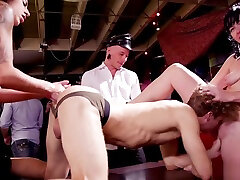 Huge tits Milf and halle von james sucking woman facesits little guy bdsm party