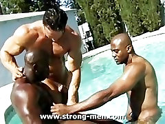 Three Muscle Hunks
