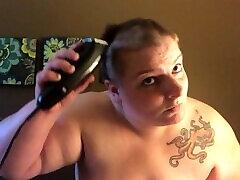 Topless Head Shaving