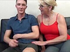 Taboo! gaye sixy viedo sissy boy dave seduces and fucks her 18yo stepson with big cock