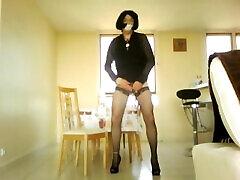 Video 30-1 - Jaime mexhiber puis sexe intense avec gode