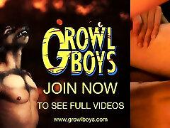 growlboys - big-dicked satyr tėtis veislių twink twink nepabalnotas