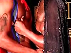 Osiris Blade & Leo Brooks - Ebony gay blowjobs