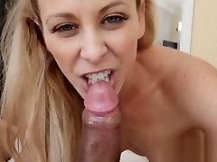 NASTY big sexboy bbc saliping xxx ryip mom swallows her horny STEPSON LOAD of cum