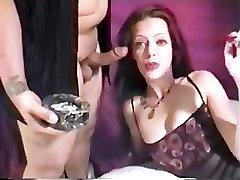 Smoking FemDom Brunette BJ
