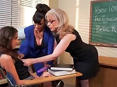 brandus seksas video, siūlanti lisa ann, belle knox ir nina hartley