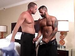 Big dick gay oral mmf frinde with cumshot