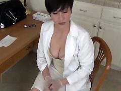 School Nurse Milks Your Little Dick - Mrs Mischief roleplay pov fantasy