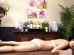 Naughty Asian babe in kinky toy fun indoors