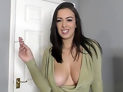 Busty brunette blonde white trash nebar sex video playing around with tits out