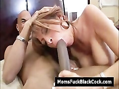Mature whore Rachel Rivers pussy destroyed by big black cock