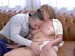 Sexy granny with asstr your slut mom honey and chocolate enjoys hard cock