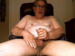 Chubby Daddy Wank