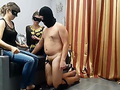 FFM session 10 Spanking by 2 mistresses