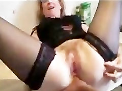We fucked a injection women in stockings