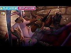 World of Warcraft Porn 2019 - Maiev x Illidan Best Fucking Pussy