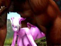 Warcraft dee siren mom Draenei x Tauren Fucked Big Dick
