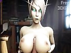 WORLD OF WARCRAFT PORN ELF ROUGH FUCKED PUSSY