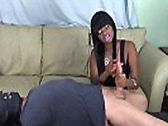 Dick sucking lips bondage handjob
