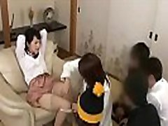 Asian Japanese Milf demonstrate sex education for 4 little boys - ReMilf.com