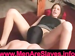 Balls On a Rope Pussy Slave
