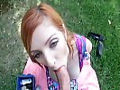 Redhead milf hox couples gets creampied by son