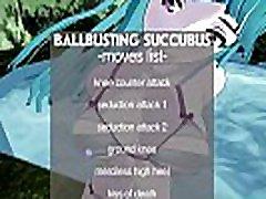MMD Ballbusting Succubus Ryona outdoor-sex