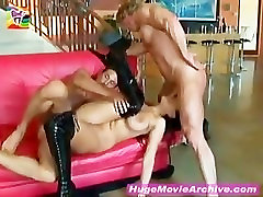 Big breasted nude tramp show Bing getting fucked by two very hard Dicks